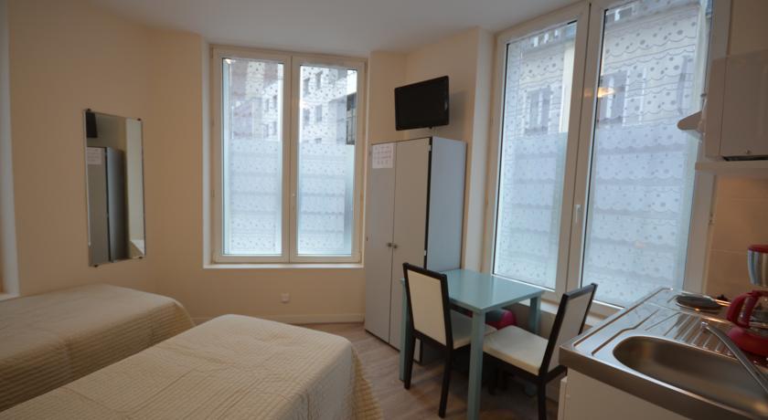 studio lits jumeaux 106 rue de paris boulogne billancourt r sidence aurmat. Black Bedroom Furniture Sets. Home Design Ideas